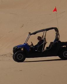 duen buggy ride at Al Khatim
