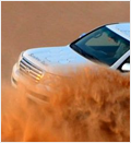 Dune Bashing in Desert Safari Tour