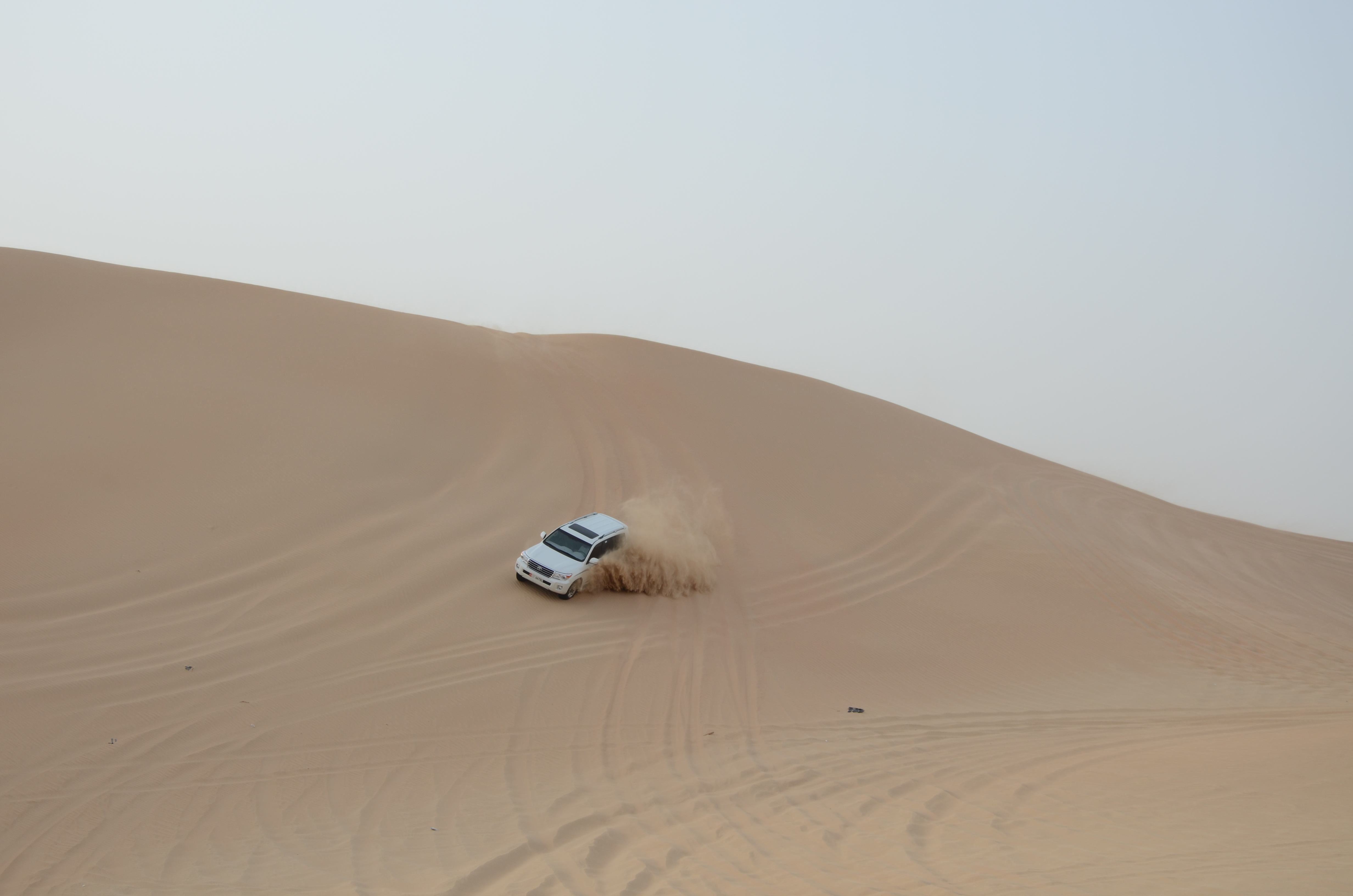 Morning Desert Dune Bashing